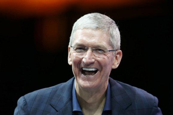 """Reuters""/""Scanpix"" nuotr./""Apple"" vadovas Timas Cookas"