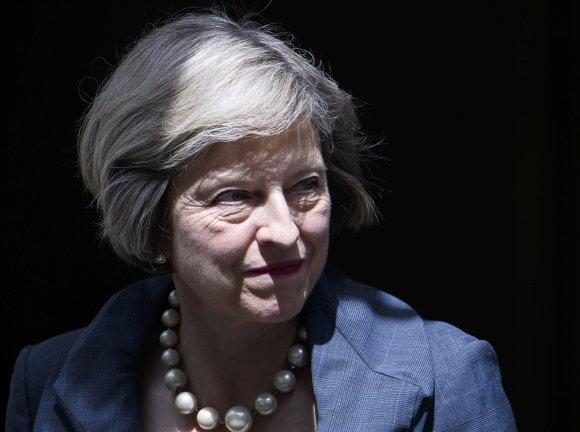 Vida Press nuotr./Theresa May
