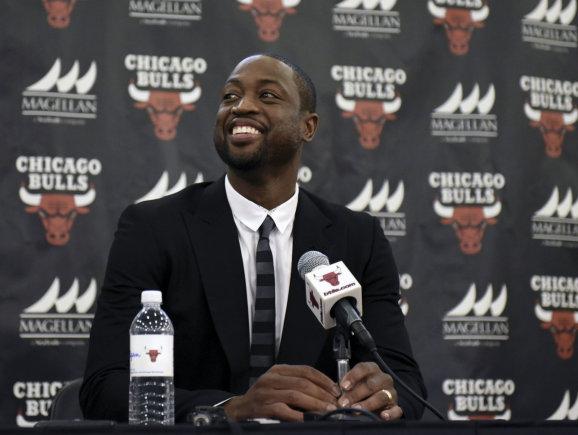 USA Today Sports/Dwyane'as Wade'as