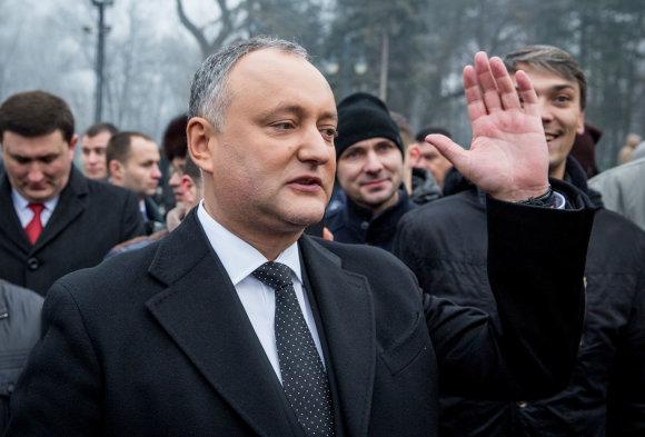 """Scanpix"" nuotr./Moldovos prezidentas Igoris Dodonas"
