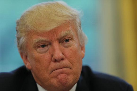 """Reuters""/""Scanpix"" nuotr./D.Trumpas duoda interviu ""Reuters"""