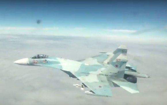 airforcesmonthly.com nuotr./Naikintuvas Su-27