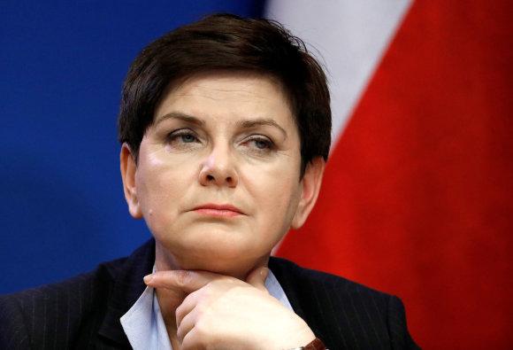 """Reuters""/""Scanpix"" nuotr./Beata Szydlo"