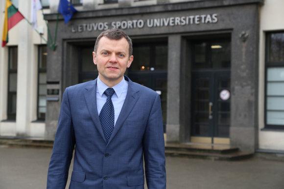 Projekto partnerio nuotr./LSU rektorius dr. Aivaras Ratkevičius