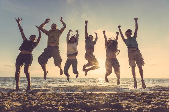 Fotolia nuotr./Laimingi žmonės