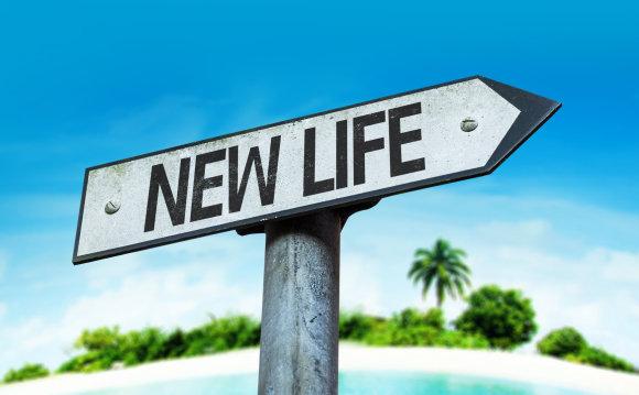 Shutterstock nuotr./Naujo gyvenimo orientyras.
