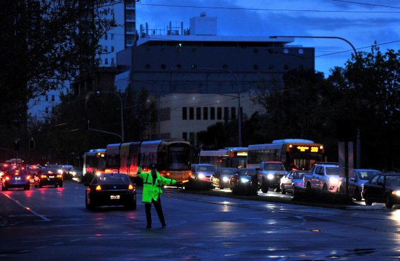 """""""Reuters""""/""""Scanpix"""" nuotr./Pietų Australija liko be elektros"""