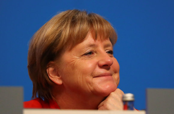 """""""Reuters""""/""""Scanpix"""" nuotr./Angela Merkel išvyko net trijų savaičių atostogų"""