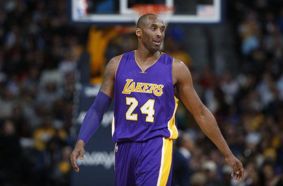 """Scanpix"" nuotr./Kobe Bryantas"