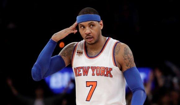 """AFP/""""Scanpix"""" nuotr./Carmelo Anthony"""
