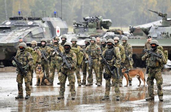 """""""Reuters""""/""""Scanpix"""" nuotr./Vokiečių kariai ir karinė technika"""