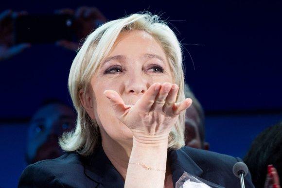 """""""Scanpix"""" nuotr./Marine Le Pen"""