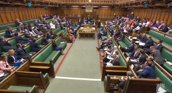 """""""Scanpix""""/""""PA Wire""""/""""Press Association Images"""" nuotr./""""Brexit"""" įstatymo projektas pajudėjo į priekį britų Bendruomenių Rūmuose"""