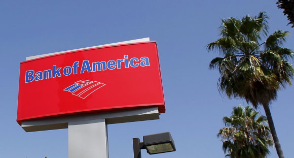 """Reuters""/""Scanpix"" nuotr./""Bank of America"" logotipas"