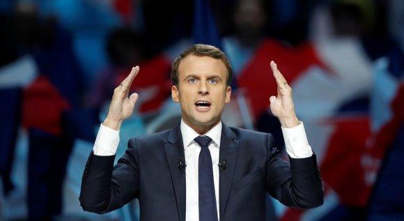 """Reuters""/""Scanpix"" nuotr./Emmanuelis Macronas"