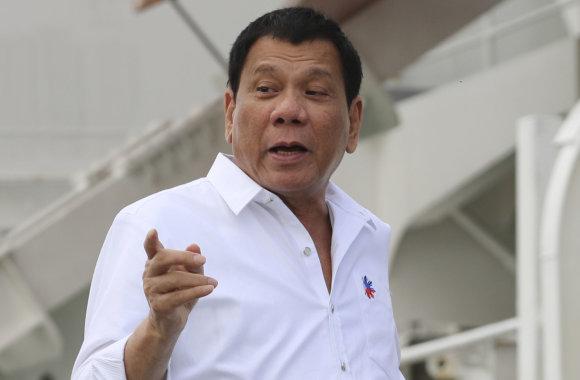 """""""Scanpix""""/AP nuotr./Rodrigo Duterte"""