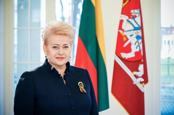 Prezidentės spaudos tarnybos nuotr./Prezidentė Dalia Grybauskaitė