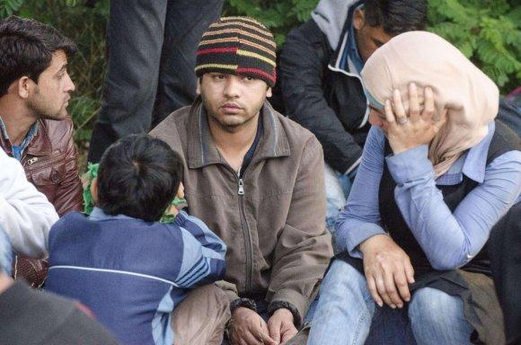 """""""Reuters""""/""""Scanpix"""" nuotr./Pabėgėliai Slovakijoje"""