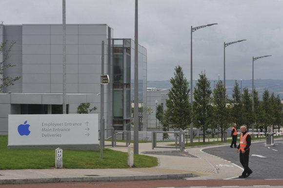 """""""Reuters""""/""""Scanpix"""" nuotr./""""Apple"""" padalinys Airijos Korko mieste"""