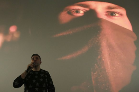 """Irmanto Gelūno / 15min nuotr./Filmo """"Winter on Fire: Ukraine's Fight for Freedom"""" pristatymas"""