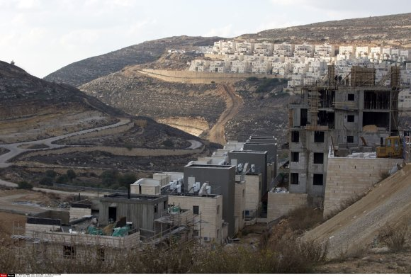 """""""Scanpix""""/""""SIPA"""" nuotr./Izraelio nausėdija Vakarų Krante"""