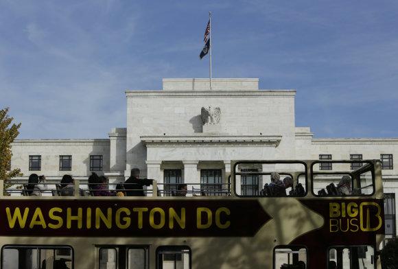 """""""Reuters""""/""""Scanpix"""" nuotr./JAV Federalinio rezervo (FED) pastatas"""