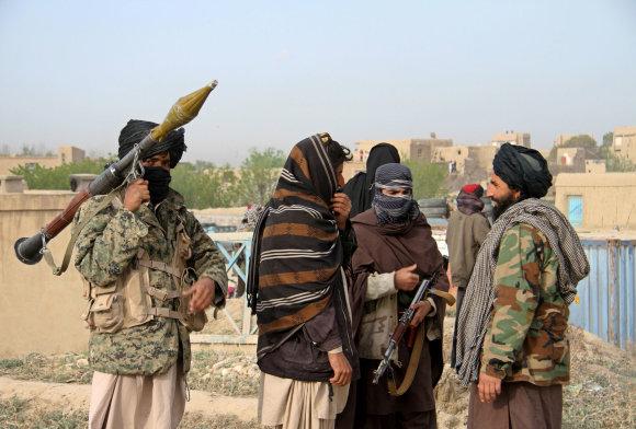"""""""Reuters""""/""""Scanpix"""" nuotr./Talibano kovotojai – ar juos ginkluoja Rusija?"""