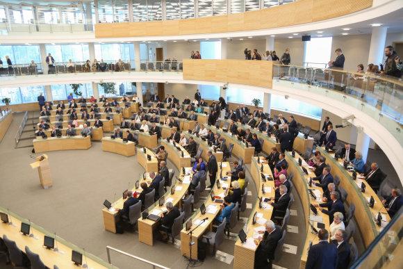 Juliaus Kalinsko/15min.lt nuotr./Seimas pradėjo rudens sesiją