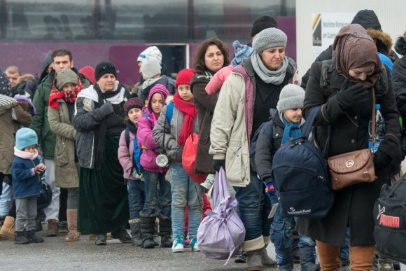 """Scanpix""/AP nuotr./Migrantai Vokietijoje"