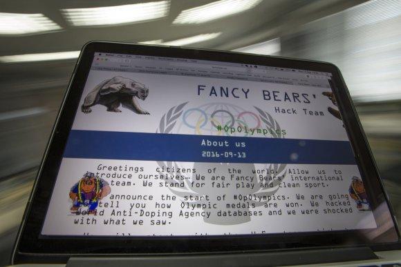 """Reuters""/""Scanpix"" nuotr./""Fancy Bear"" atakuotas tinklapis"