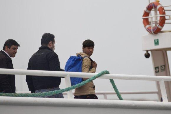 """""""Scanpix""""/AP nuotr./Migrantai grąžinami į Turkiją"""