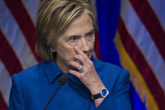 """Scanpix""/AP nuotr./Hillary Clinton"