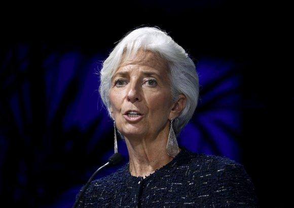 """""""Reuters""""/""""Scanpix"""" nuotr./23. Tarptautinio valiutos fondo direktorė Christine Lagarde"""