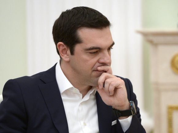 """""""Scanpix""""/""""RIA Novosti"""" nuotr./Graikijos premjeras Aleksis Cipras"""
