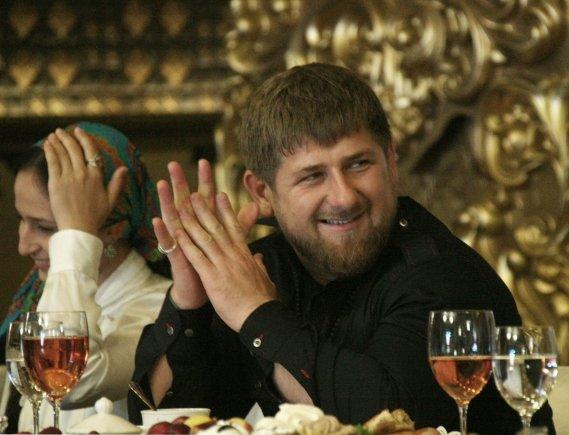 """Scanpix""/""Sputnik"" nuotr./Čečėnijos lyderis Ramzanas Kadyrovas"