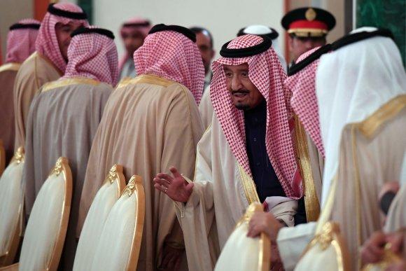 """""""Scanpix""""/AP nuotr./Saudo Arabijos karalius Salmanas Rusijoje"""