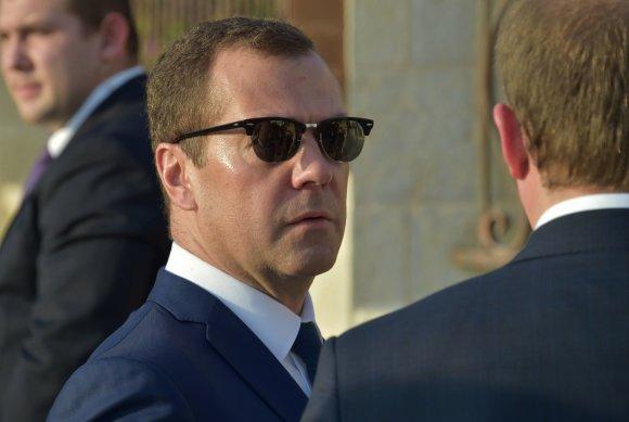 """Scanpix""/""RIA Novosti"" nuotr./Dmitrijus Medvedevas"