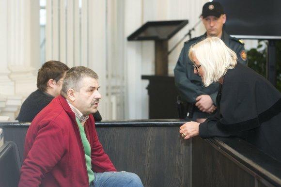 Irmanto Gelūno/15min.lt nuotr./Romualdas Lipskis išgirdo teismo nuosprendį šnipinėjimo byloje