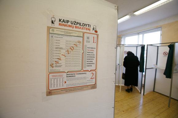 Eriko Ovčarenko / 15min nuotr./Rinkimai Kaune