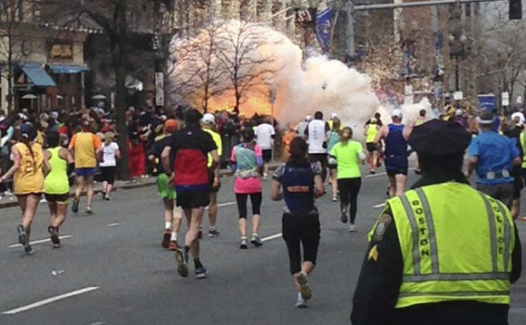 """""""Reuters""""/""""Scanpix"""" nuotr./Per teroro išpuolį Bostono maratono metu 2013-ųjų balandžio 15 dieną žuvo trys žmonės ir buvo sužeista dar per 260."""