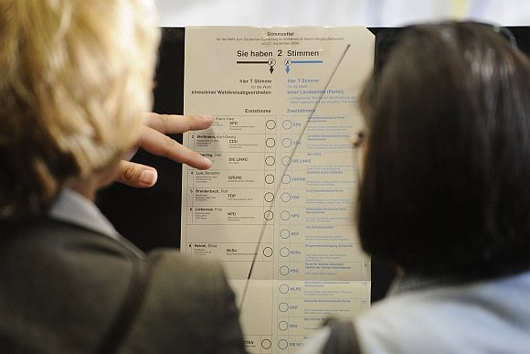 """AFP/""""Scanpix"""" nuotr./Rinkimai Vokietijoje"""