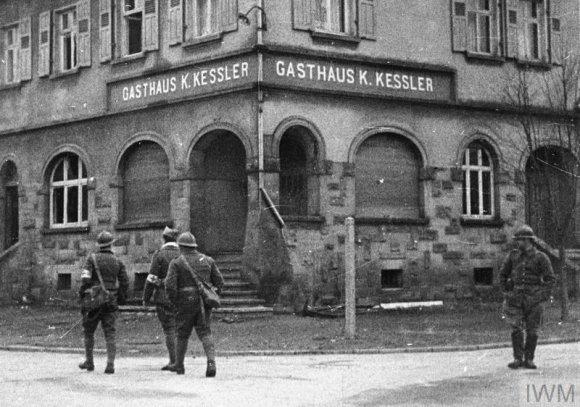 Britanijos Imperijos karo muziejaus/Wikipedia.org nuotr./Prancūzijos karių reidas į Saro sritį (1939 m. rugsėjis)