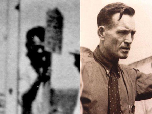 """""""Scanpix""""/AP ir Wikipedia.org nuotr./Fredo Noonano ir rastoje nuotraukoje matomo vyriškio palyginimas"""