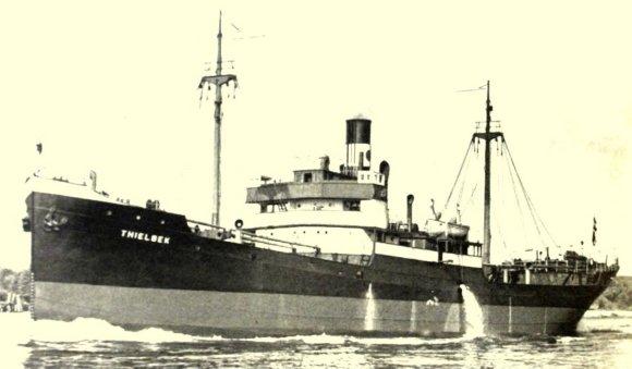 "Wikipedia.org nuotr./Krovininis laivas ""Thielbek"""