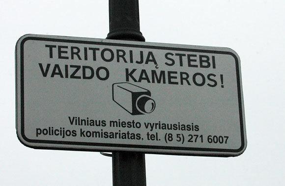 Andriaus Vaitkevičiaus/15min.lt nuotr./Įspėjimas