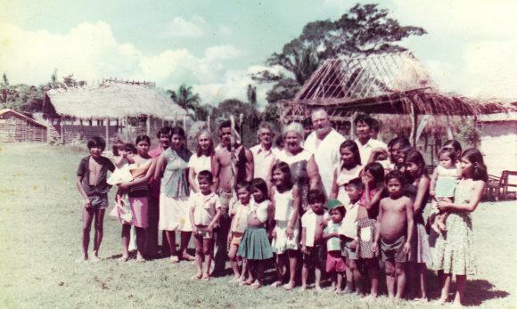 E.Bacevičienės nuotrauka/Brazilijos-Bolivijos pasienyje vietiniai padre medico atsimena iki šiol.