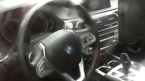 indianautosblog iliustr./BMW 5 Series interjeras