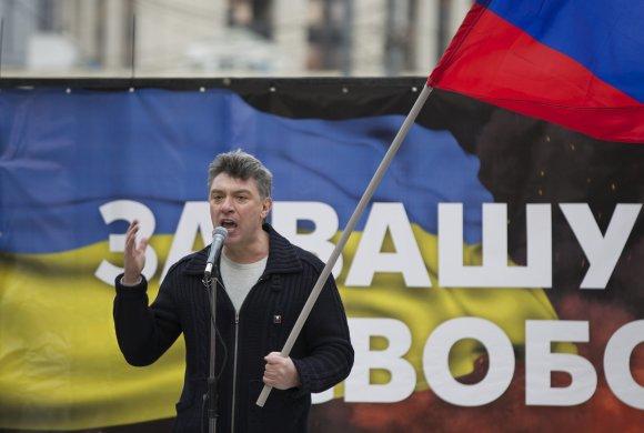 """""""Scanpix""""/AP nuotr./Borisas Nemcovas"""