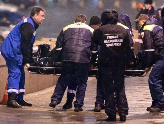 """AFP/""""Scanpix"""" nuotr./Maskvoje nužudytas opozicijos lyderis Borisas Nemcovas"""