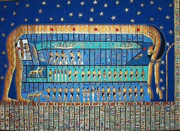 LEM iliustr./Senovės egiptiečių kalendorinių metų cikle – 12 mėnesių po 30 dienų./Noao.edu)